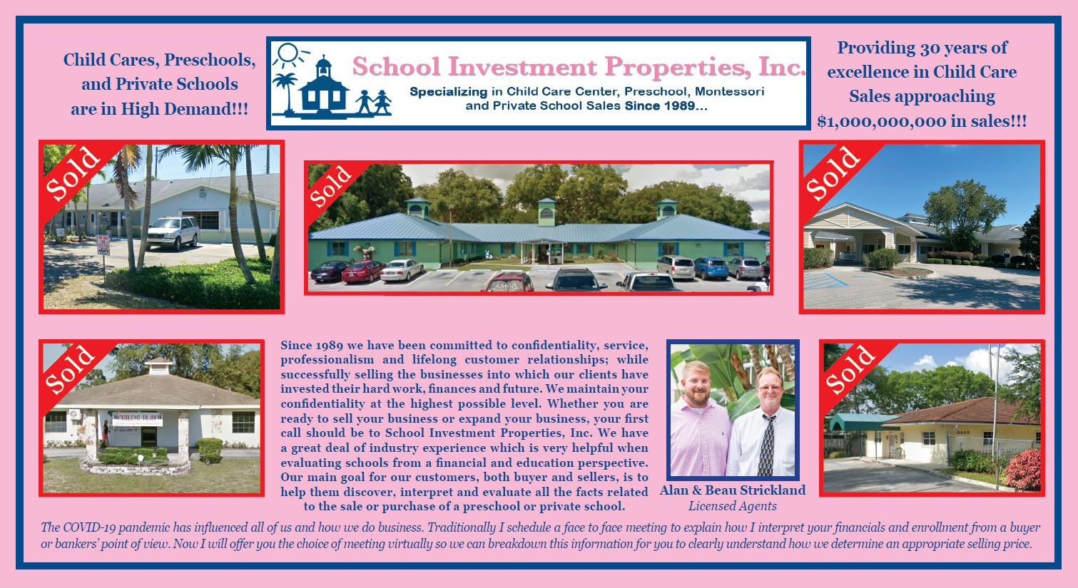 Alan & Beau Strickland from School Investment Properties